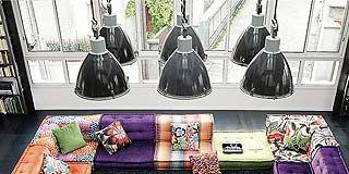 Textile, Purple, Room, Interior design, Lavender, Violet, Grey, Interior design, Home accessories, Home,
