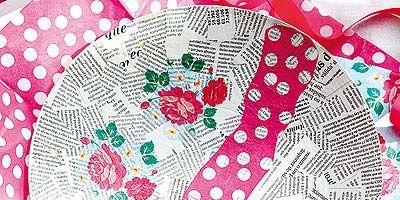 Pattern, Textile, Magenta, Pink, Purple, Art, Creative arts, Visual arts, Violet, Circle,