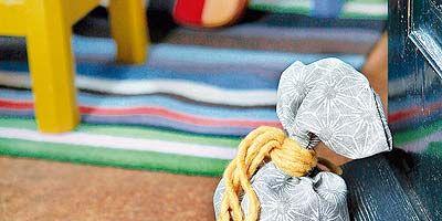 Textile, Thread, Knot, Craft, Playground,