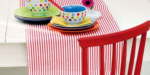 Yellow, Red, Furniture, Chair, Design, Plastic, Windsor chair,