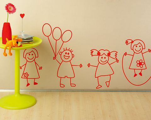 Illustration, Artificial flower, Drawing, Child art, Plastic,