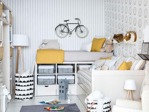 White, Furniture, Yellow, Room, Shelf, Interior design, Table, Design, Home, Desk,
