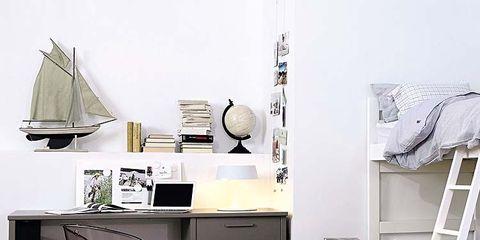 Room, Floor, Interior design, Flooring, Furniture, Drawer, Ladder, Cabinetry, Home, Grey,