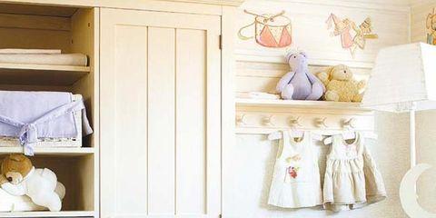 Room, White, Cupboard, Cabinetry, Dress, Door, Home door, Handle, Drawer, Shelving,