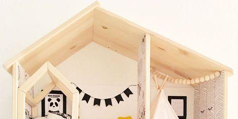 Shelf, Room, House, Furniture, Home, Interior design, Building, Dollhouse, Shelving,