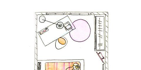 Pink, Illustration, Drawing, Circle, Artwork, Diagram, Sketch, Graphics, Line art,