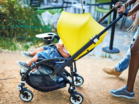Product, Baby carriage, Shoe, Baby Products, Sitting, Foot, Lap, Sandal, Calf, Ankle,