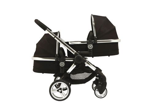 Product, Baby Products, Black, Grey, Black-and-white, Monochrome photography, Monochrome, Baby carriage, Rolling, Silver,