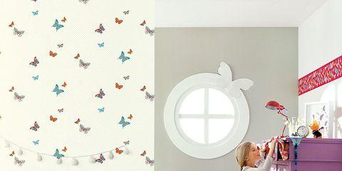 Room, Interior design, Textile, Wall, Pink, Linens, Bedding, Bedroom, Interior design, Purple,