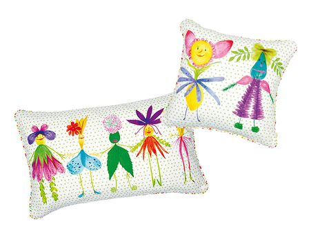 Textile, Pink, Pattern, Cushion, Magenta, Creative arts, Embroidery, Wing, Illustration, Home accessories,