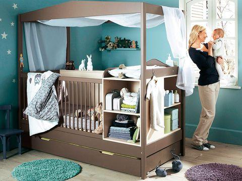Cómo Distribuir El Mobiliario En El Dormitorio Del Bebé Niños