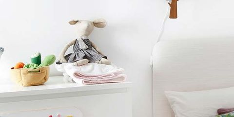 Product, Room, Textile, White, Chest of drawers, Linens, Drawer, Furniture, Interior design, Bedding,