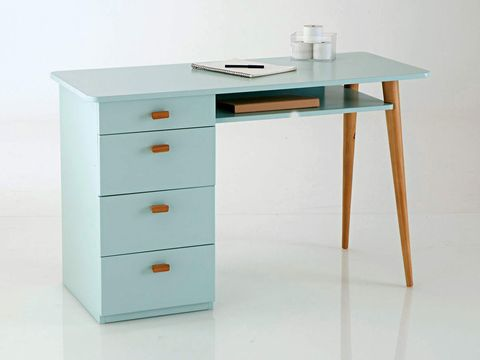 Furniture, Desk, Drawer, Table, Computer desk, Writing desk, Material property, Chest of drawers, Dresser,