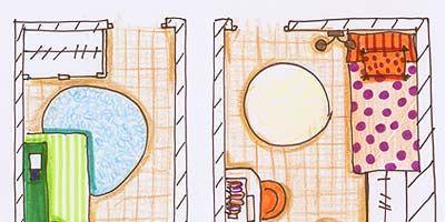 Line, Purple, Pattern, Parallel, Peach, Rectangle, Design, Circle, Illustration, Polka dot,