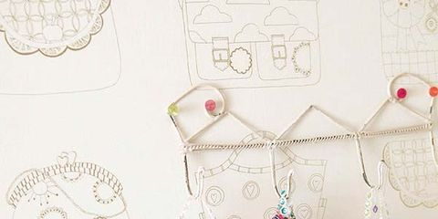 Pattern, Creative arts, Illustration, Paper, Line art, Paper product, Drawing, Craft, Needlework,