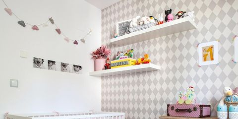 Room, Product, Interior design, Textile, Wall, Pink, Furniture, Interior design, Home, Bed,