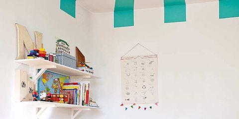 Wood, Room, Interior design, Home, Furniture, Turquoise, Orange, Teal, Aqua, House,