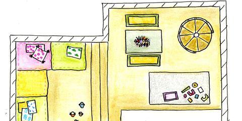 Yellow, Line, Purple, Magenta, Lavender, Parallel, Rectangle, Violet, Illustration, Square,
