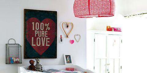 Room, Interior design, Interior design, Cabinetry, Major appliance, Home accessories, Design, Peach, Lamp, Home appliance,