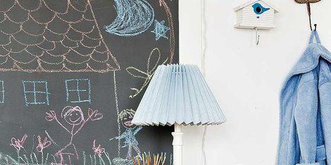 Blue, Room, Textile, Interior design, Table, Lampshade, Lamp, Interior design, Home accessories, Grey,