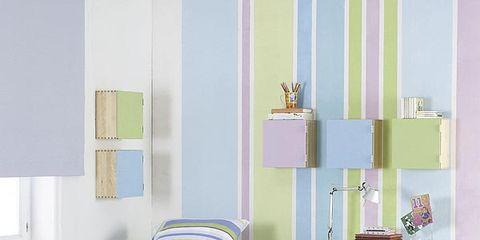 Room, Interior design, Textile, Floor, Wall, Linens, Flooring, Purple, Bedding, Bed,