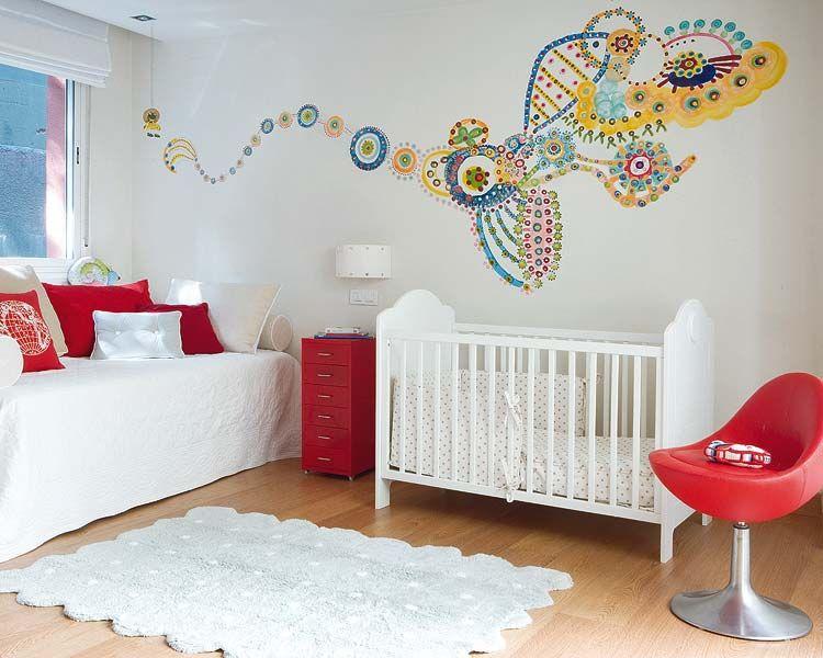 El dormitorio del bebé compartido