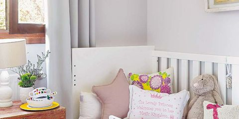 Room, Interior design, Textile, Home, Wall, Furniture, Pink, Interior design, Linens, Throw pillow,