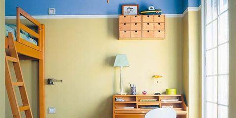 Wood, Room, Floor, Flooring, Hardwood, Ladder, Wood flooring, Interior design, Wood stain, Fixture,