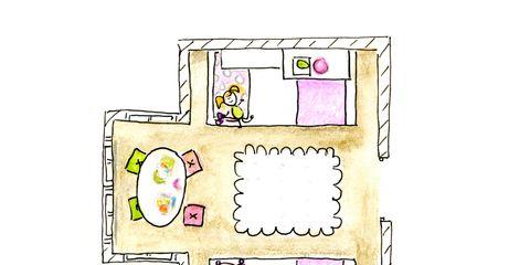 Pink, Line, Purple, Magenta, Parallel, Rectangle, Illustration, Plan, Drawing, Sketch,