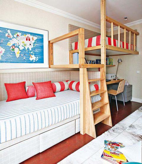 Wood, Room, Interior design, Textile, Wall, Floor, Furniture, Home, Flooring, Shelving,