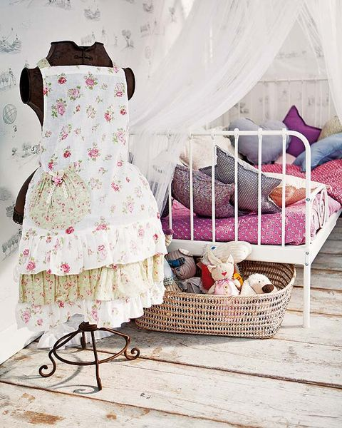 Product, Textile, Dress, Pink, Pattern, One-piece garment, Day dress, Mosquito net, Bed, Linens,