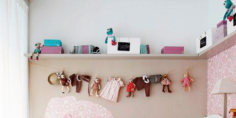 Room, Interior design, Wood, Wall, Home, Furniture, Pink, Interior design, Turquoise, Orange,