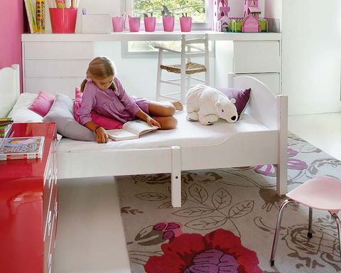 Room, Interior design, Pink, Magenta, Purple, Violet, Comfort, Petal, Interior design, Home,