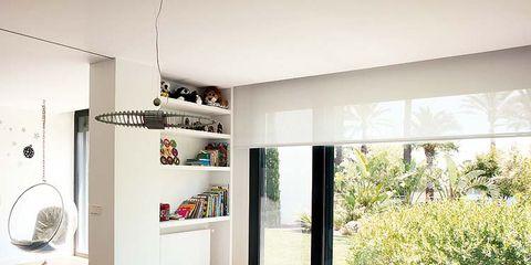 Room, Interior design, Wall, Floor, Ceiling, Furniture, Interior design, Home, Linens, House,