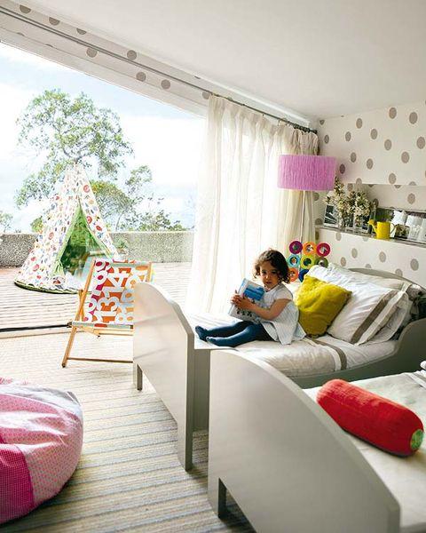 Room, Interior design, Textile, Home, Comfort, Pink, Interior design, Linens, Bedding, Bedroom,
