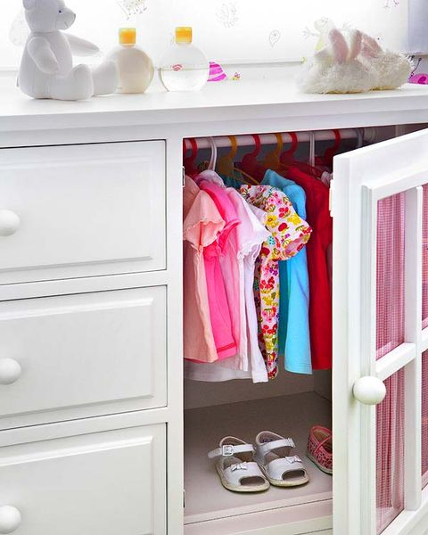 Room, White, Pink, Drawer, Cabinetry, Shelving, Grey, Magenta, Serveware, Chest of drawers,