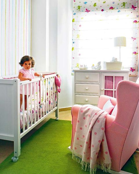 Product, Room, Interior design, Green, Chest of drawers, Textile, Drawer, Pink, Furniture, Baby & toddler clothing,