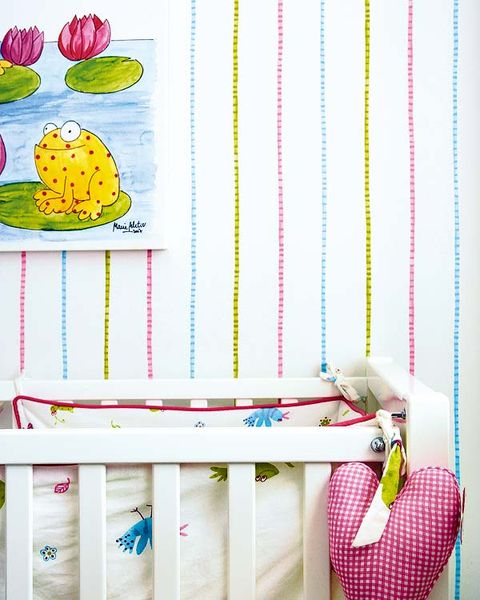 Pink, Magenta, Nursery, Peach, Infant bed, Produce, Creative arts, Coquelicot, Vegetable, Fruit,