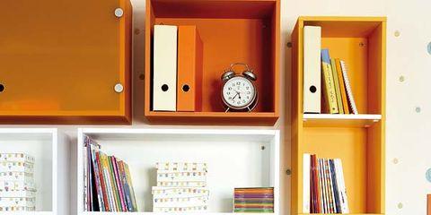 Room, Interior design, Wall, Shelving, Furniture, Shelf, Interior design, Turquoise, Home, Desk,