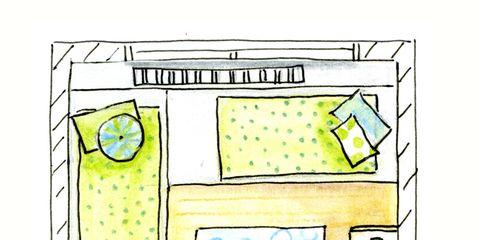 Un Dormitorio Infantil Para Dos Dos Camas Y Zona De Juegos