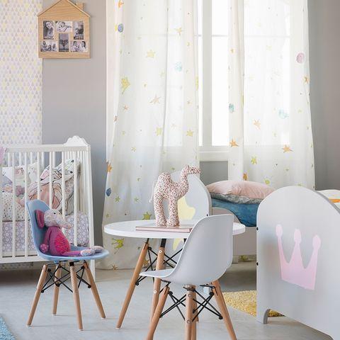 Product, Room, Interior design, Textile, Furniture, Pink, Home, Floor, Interior design, Turquoise,
