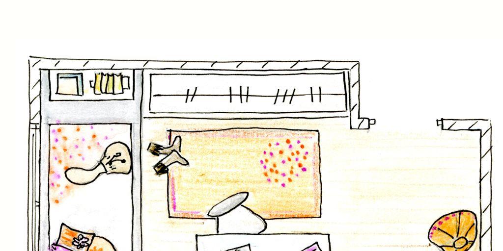 Un dormitorio juvenil con muebles a medida for Muebles juveniles a medida