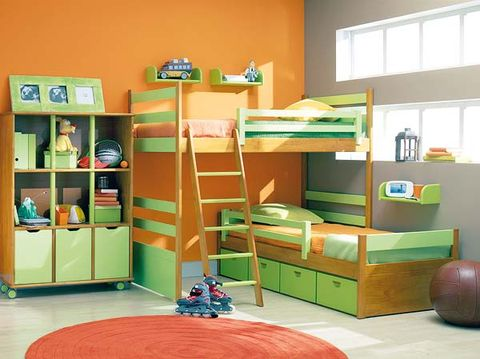 Room, Interior design, Dormitory, Shelving, Bunk bed, Shelf, Bed, Hostel, Bedroom, Bedding,