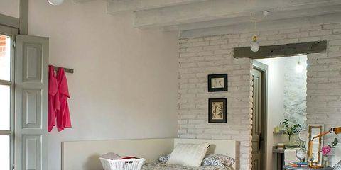 Room, Interior design, Floor, Flooring, Property, Home, Textile, Wall, Bedding, Ceiling,