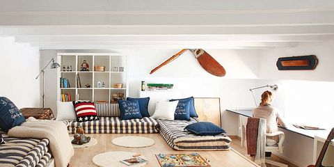 Room, Wood, Interior design, Floor, Flooring, Textile, String instrument accessory, Home, Pillow, Living room,