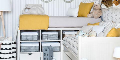 Yellow, Furniture, Room, Product, Shelf, Interior design, Table, Home, Wallpaper, Desk,