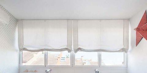 Room, Interior design, Floor, Flooring, Furniture, Home, Wall, Interior design, Window treatment, Linens,