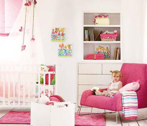 Room, Product, Interior design, Home, Textile, Furniture, Pink, Wall, Magenta, Interior design,