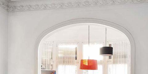 Room, Interior design, Furniture, Floor, Wall, Table, Interior design, Home, Living room, Light fixture,