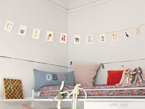 Room, Interior design, Textile, Wall, Interior design, Pillow, Throw pillow, Design, Paint, Visual arts,